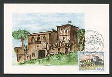 ITALIA MK RICCIA VILLA MAXIMUMKARTE CARTE CARTOLINA MAXIMUM CARD MC CM d376