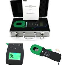 Floor Resistance Tester Meter Electronics Industrial Circuit Clamp Ground Tool