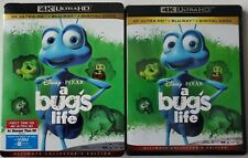 DISNEY PIXAR A BUG'S LIFE 4K ULTRA HD BLU RAY 3 DISC SET + SLIPCOVER SLEEVE