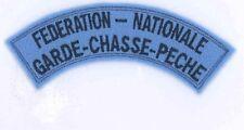 Tissu Fédération Nationale Garde Chasse Peche
