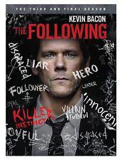 The Following New Sealed DVD Box Set Complete 3rd Season J. Purefoy & J. Stroup