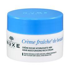 NUXE Creme Fraiche De Beaute 48HR Moisturising Rich Cream 1.7oz, 50ml
