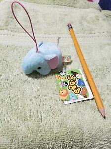 Amuse Pucchi Maru Backpack charm/key charm plush ELEPHANT