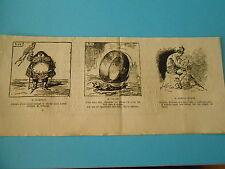 Caricature 1877 - Vignettes Salon Jeanne D'Arc ayant mangé le cheval