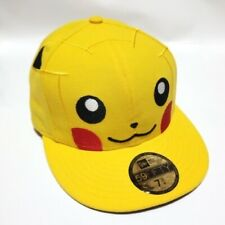 New Era POKEMON Pikachu 59Fifty Fitted Hat Cap Beams 7 3/4 Japan Exclusive