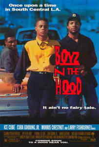 BOYZ N THE HOOD 11x17 Movie Poster [Ice Cube] - Licensed   New   USA    [A]