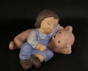 Goebel Figur Nina und Marco Limpke Marco´s Teddy OVP (V)