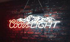 "New Coors Mountain Beer Neon Light Sign 19"" HD Vivid Printing Technology"