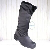 New Thermolite Waterproof Boots Black Size 6 Womens Faux Fur Lined Brand New nwt