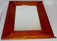 """Antique Early 1800's Birdseye Maple Wall Mirror 22"""" x 31"""" Lot 20"""