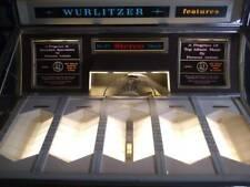 New ListingWurlitzer Juke Box 1960's 2900 Series 2910 45 Rpm Great Working Condition