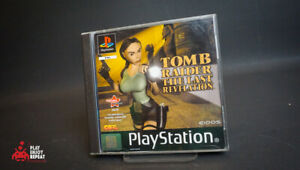 Tomb Raider The Last Revelation Sony PlayStation 1 VGC FAST