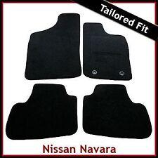 Nissan Navara D22 Crew Cab 1999-2005 Tailored Fitted Carpet Car Floor Mats BLACK