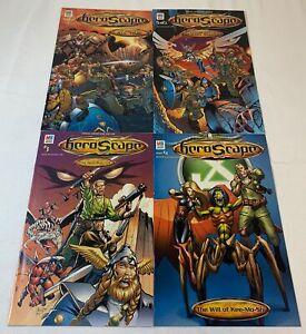 HEROSCAPE promotional insert comics #1 2 3 4 ~ FULL SET