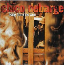 Long Time No See by Chico DeBarge CD Nov-1997 Universal Distribution