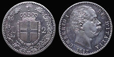 pci1157) Regno d'Italia Umberto I lire 2 scudo 1897