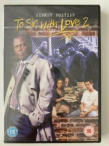 To Sir With Love 2, DVD,Sidney Poitier 1996, New & Sealed, Fast Dispatch