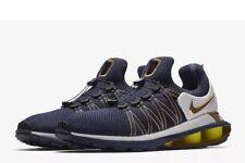 Nwt Nike Shox Gravity Running Shoes - Michigan Wolverines - Ar1999-400 - Sz-8.5