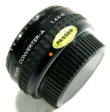 Pentax-A Rear Converter 1.4X-S with Caps UK Fast Post