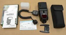 Canon Speedlite 580EX Flash, Diffuser, DVD, and Canon OC-E3 Off Camera Shoe Cord