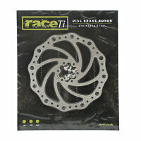 Stainless Steel MTB Bicycle Disc Brake Rotor 180mm including bolts UK seller
