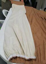 3 Long rideaux tenture occultant brun au total 222 x 550 qualité doublé finition