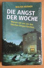 Die Angst der Woche von Walter Krämer (2011, Piper, Buch gebunden) NEU & OVP