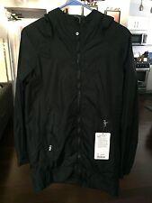 Lululemon No Rain No Gain Jacket - Size 4 - NWT - BLACK