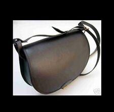 1A SATTLERQUALITÄT Ledertasche LEDER Handtasche im Großformat NEU Jagdtasche XL#