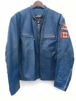 SHEILDS Leather CAFE RACER Motorcycle Biker Jacket