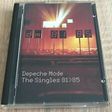 Depeche Mode The Singles 81>85 Minidisc MD Rare Mute LMDMUTEL1 Compilation