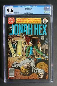 JONAH HEX #1 SOLO Fleisher López DC 1977 Movie TV Legends Tomorrow CGC NM+ 9.6
