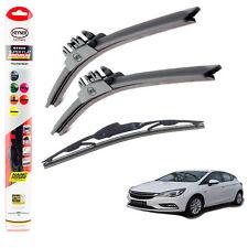 "Vauxhall Astra 2015+ HEYNER SUPER FLAT PREMIUM wiper blades 26""26""10"" set of 3"
