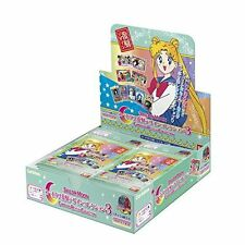 Sailor Moon Carddass Revival Collection 3 Trading Collectable Cards 16 Pack.