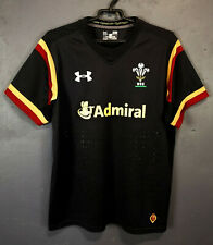 MEN'S RUGBY UNION WALES WRU 2016/2017 AWAY SHIRT JERSEY CAMISETA SIZE S SMALL