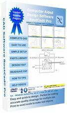 Electrical Mechanical Building Flooring Auto Plane CAD Design Software RoutCad