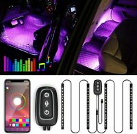 Trongle Interior Strip APP Controlled, Waterproof with 4pcs 48 LEDs,Multi...