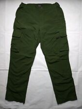 Railriders Mens Green Cargo Outdoor Pants Size S