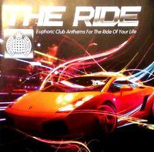 THE RIDE MINISTRY OF SOUND - 2 X CDS MIXED FUNKY HOUSE IBIZA TRANCE CDJ DJ
