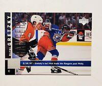 Wayne Gretzky 97/98 Upper Deck Hockey Card #109 (NM, MT card)