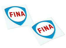 FINA Classic Retro Car Motorcycle Decals Stickers