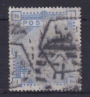 GB105) Great Britain 1883 10/- Ultramarine on Blued Paper