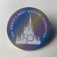 Walt Disney World 50th Anniversary Celebration Disney Fantasy Pin Magic Kingdom