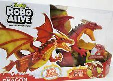 NEW - Zuru Robo Alive - Real Life Robotic Pets - Fire Breathing Dragon - RRP $50