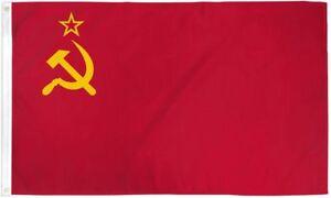 3x5 USSR Flag Soviet Union Russian Communist Party Banner Communism Pennant