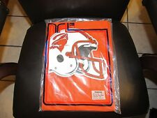 BRAND NEW VINTAGE TAMPA BAY BUCCANEERS PONCHO NFL ORANGE CREAMSICLE VERY RARE