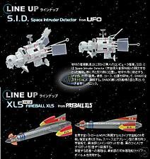 Konami SF MOVIE SELECTION S.H.A.D.O. SHADO UFO S.I.D FIREBALL XL5 Gerry Andeson