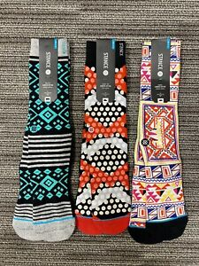 3 Pairs of Mens Stance Socks L/XL 9-13