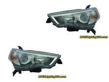 TYC Right & Left Sides Halogen Headlight Assembly For Toyota 4Runner 2014-2015