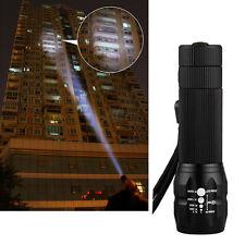 1X Neu 1W 480LM LED-Mini-Taschenlampe Einstellbarer Fokus Zoom-Licht-Lampe